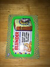 2008 WACKY PACK FLASHBACK 2 PACKAGES GREEN PARALLEL STICKER BLUNDER BREAD 6 MINT