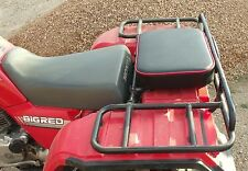 "16"" X 12"" RED REAR RACK SEAT PAD ATV ATC UTV GO CART GOLF CART PASSENGER SEAT"