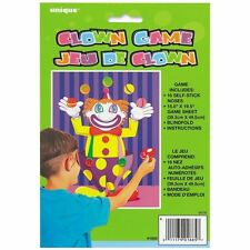 CHILDRENS BIRTHDAY PARTY GAMES Stick the Nose on the Clown