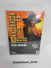 MAD DOG MCCREE CD ROM (PC) VIDEOGIOCO NUOVO SIGILLATO NEW GAME VIDEOGAMES