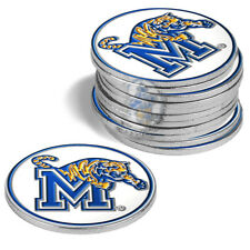 Memphis Tigers 12 Pack Golf Ball Markers