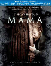 Mama (Blu-ray/DVD, 2013, 2-Disc Set) * NEW *