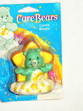 """NEW CARE BEARS  1- CANDLE   3-1/4"""" TALL -PARTY SUPPLIES"""