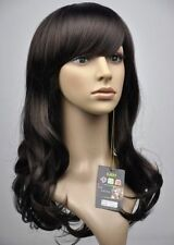 CHWJ440  NEW charming long dark brown curly women's party  WIG  wigs for women