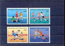 Fußball WM 1986, Soccer - Kongo - 1040-1043 ** MNH