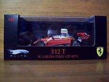 1/43 MATTEL ELITE FERRARI 312 T NIKI LAUDA ITALY GP 1975 WORLD CHAMPION