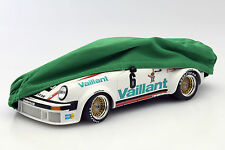 Voiture couverture vert pour voitures modèles dans échelle 1:18
