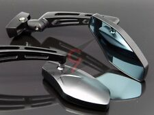 BLACK RACING REARVIEW MIRRORS FOR HONDA SUZUKI KAWASAKI YAMAHA BUELL TRIUMPH