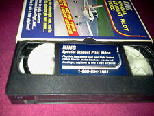 VINTAGE VHS TAPE KING SPECIAL STUDENT PILOT VIDEO