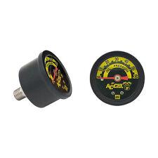 ACCEL Öldruckmesser Öldruckanzeiger 60PSI für Harley - Davidson Pan, Shovel, Evo
