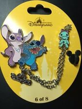 HKDL Hong Kong Disneyland Stitch Angel Scrump LE500 Pin Disney Trading Pin