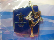 Vancouver 2010 Olympics - Silhouette Figure Skating Pin