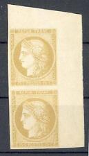 FRANKREICH 1849 2 ESSAY + BOGENECKE (16911