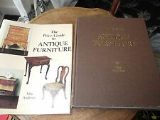 ILLUSTRATED HB & DC PRICE GUIDE TO ANTIQUE FURNITURE JOHN ANDREWS 1978 2ND ED