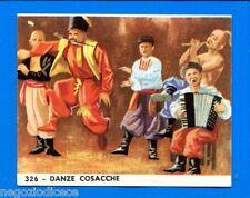 EUROPA - Imperia 1965 - Figurina-Sticker n. 326 - DANZE COSACCHE -Rec