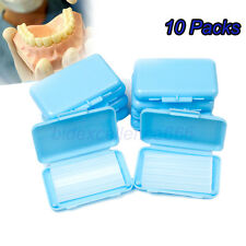 10X Dental Orthodontics Ortho Wax Ortodoncia Cera For Braces gum -Mint scent