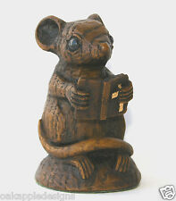 Church Mouse Bible Ornament Cute Wood Unique Mice Gift Unique Collectable Prayer