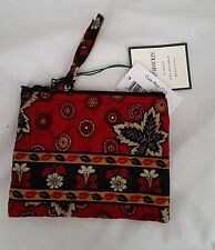 Vera Bradley RETIRED RARE TO FIND COIN PURSE/TRAVEL PILL BAG in Mesa Red