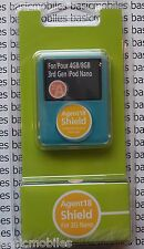 Agent 18 transparent clair ipod nano 3G 3rd housse de protection hard case & dock 4GB/8GB