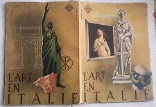 L'ART EN ITALIE RETROSI 1942 FERROVIE DELLO STATO