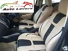 ★Premium Quality Car Seat Cover Luxury Range of PU Leather Tata Nano-Beige★SC1