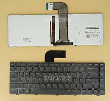 For DELL Inspiron 14R N4050 M4040 N4110 N4120 Keyboard Backlit Israel Hebrew