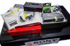 LOOK NEW SONY WM-D6C +MDR-51 Phones Walkman Professional TAPE Cassette RECORDER