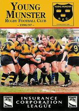 Young MunstervGarryowen 29 Mar 1997 Tom Clifford Park RUGBY PROGRAMME
