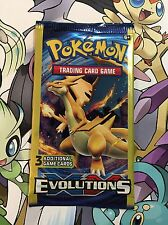 1x Pokemon Evolutions Official 3 Card Pack! AKA Sampling / Dollar Tree Pack RARE