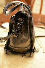Authentic Burberry Womens Bag Metallic Gray handbag