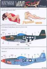 Kits World Decals 1/72 P-51D MUSTANG Charles Weaver's Passion Wagon #2