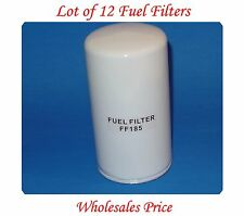 Lot 12 Fuel Filter FF185 For Chevrolet GMC Freightliner UD Caterpillar Case IHC