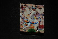 HOF ANDRE DAWSON 1993 PINNACLE COOPERSTOWN SIGNED AUTOGRAPHED CARD #11
