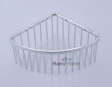 NEW Stainless Steel Corner Shower Wasl Basket Shelves Caddy Storage