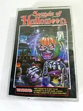 Sounds of Halloween Vintage Cassette Tape Scary Effects Screams etc RARE SEALED