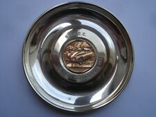 1962 N.&D.C.C.NEW FOREST RALLY SOUVENIR SILVER PLATED PIN DISH