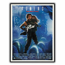 ALIENS ALIEN 2 METAL SIGN PLAQUE Retro Film Movie Advert poster print decor