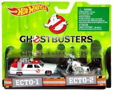 Ghostbusters 3 2-pack Ecto Car 1/64 & Ecto Bike 1/50 DRW73 Hot Wheels