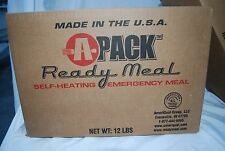 A-Pack MRE Emergency Survival Meal Food Case Camping Boating Hiking Outdoors