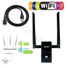 Dual Band Antenna 802.11ac 1200Mbps USB 3.0 Wireless WiFi Win Linux Mac Adapter