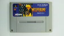WOLVERINE  Nintendo Super Famicom Japanese SFC SNES Japan FREE Shipping USED