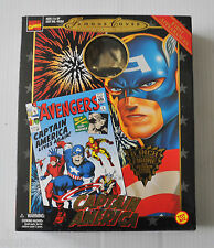 CAPTAIN AMERICA Famous Cover Series BOX ONLY (for 8 inch Action Figure) Marvel