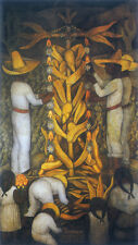 The Maize Festival  by Diego Rivera Giclee Canvas Print Repro