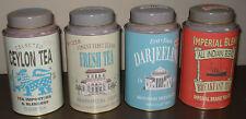 Martin Wiscombe Tea Caddies Shabby Chic/Antique Style - Set of 4