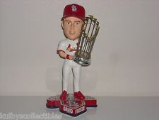 DAVID FREESE St Louis Cardinals Bobble Head 2011 World Series Champs Trophy MLB*
