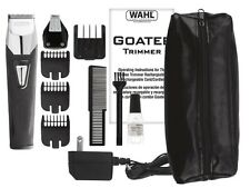 WAHL 9860-1301 Goatee Rechargeable Trimmer +Interchangeable Detail Head