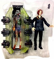 Mcfarlane Toys X Files Alien & Dana Scully Tv Movie Figuras Set Grandes Figuras!