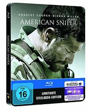 AMERICAN SNIPER - Limited Edition Blu-Ray Steelbook -