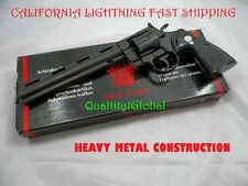 "NEWEST PRODUCTION HEAVY METAL 8"" COLT PYTHON REVOLVER 1:1 REPLICA MOVIE PROP 357"