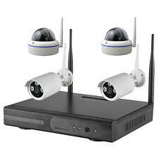 4 CH CCTV Wireless Home indoor outdoor IP Camera Surveillance Security System